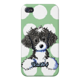 Cockapoo / Spoodle Pocket Puppy Case For iPhone 4