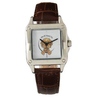 Cockapoo Tan IAAM Wrist Watches