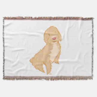 Cockapoo Throw Blanket