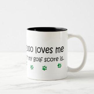 Cockapoo Two-Tone Coffee Mug
