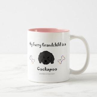CockapooBlk Two-Tone Coffee Mug