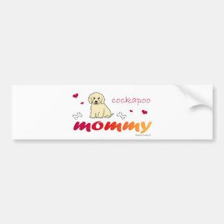 CockapooCrmMommy Bumper Sticker