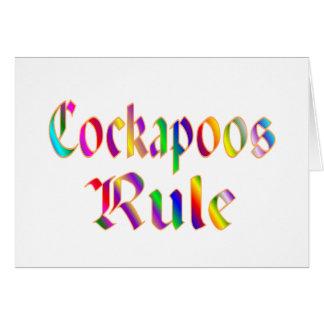 Cockapoos Rule Card