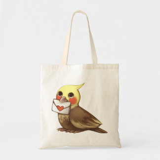 Cockatial Letter Tote Bag