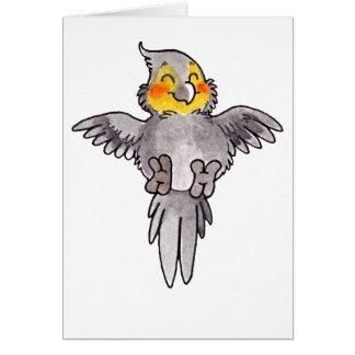 Cockatiel Card