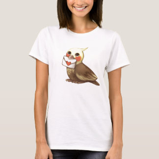 Cockatiel Letter T-Shirt