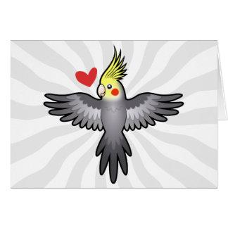 Cockatiel Love Card