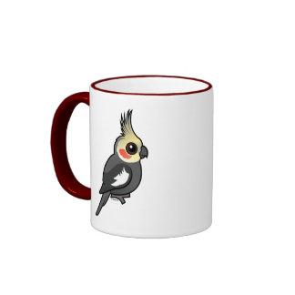 Cockatiel Ringer Coffee Mug