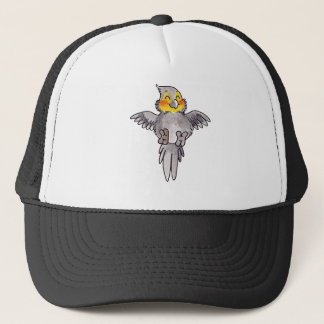 Cockatiel Trucker Hat