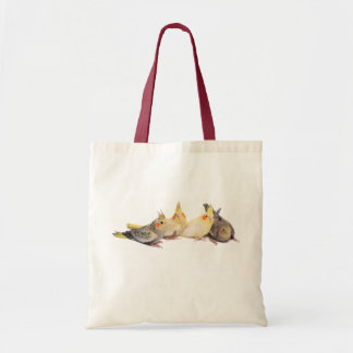 Cockatiels Budget Tote Bag