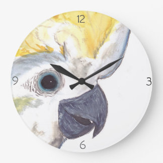Cockatoo Clock