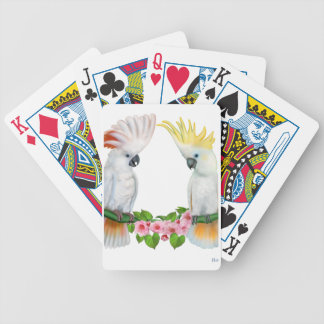 COCKATOO COURTSHIP BICYCLE PLAYING CARDS
