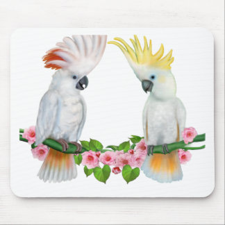 COCKATOO COURTSHIP MOUSE PAD