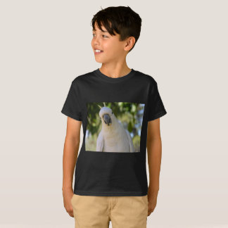 Cockatoo eating nuts T-Shirt