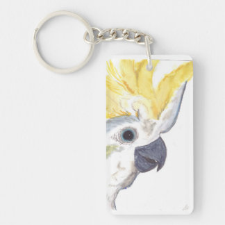 Cockatoo Keychain