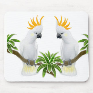 Cockatoo Love Mousepad