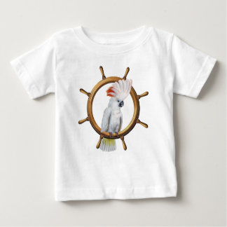 Cockatoo Pirate Parrot Baby T-Shirt