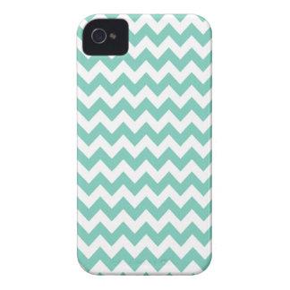 Cockatoo Turquoise Chevron Iphone 4 or 4S Case