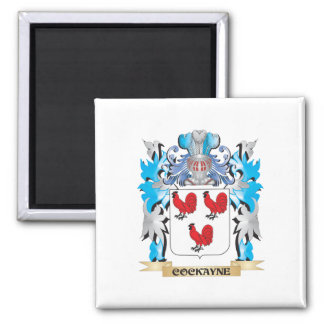 Cockayne Coat of Arms - Family Crest Square Magnet