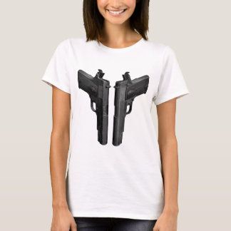 Cocked and Loaded 1911 Pistols T-Shirt