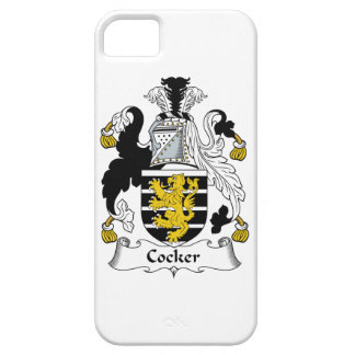 Cocker Family Crest iPhone 5 Cover