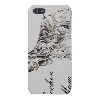 Cocker Mom, American Cocker Spaniel iPhone Case iPhone 5 Cases