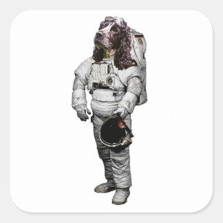Cocker Spaniel Astronaut Sticker