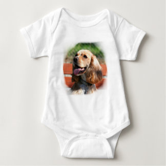 Cocker Spaniel baby Baby Bodysuit