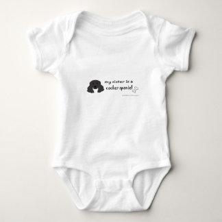 cocker spaniel baby bodysuit