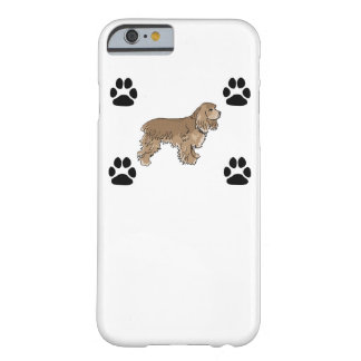 Cocker Spaniel Barely There iPhone 6 Case