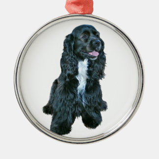 Cocker Spaniel - Black #2 Christmas Ornament