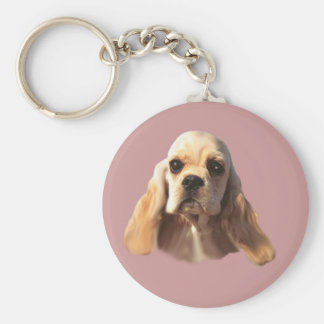 Cocker Spaniel Blondie Keychain