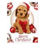 Cocker Spaniel Christmas Postcards