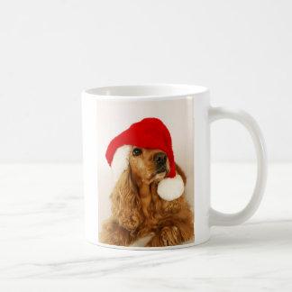 Cocker Spaniel Christmas Santa Mug