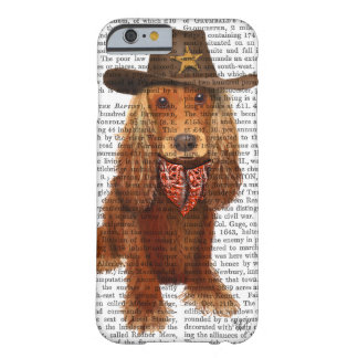 Cocker Spaniel Cowboy 2 Barely There iPhone 6 Case