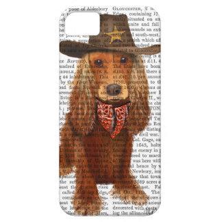 Cocker Spaniel Cowboy 2 iPhone 5 Cases