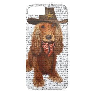 Cocker Spaniel Cowboy 2 iPhone 8/7 Case
