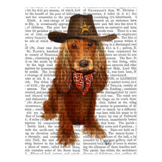 Cocker Spaniel Cowboy 2 Postcard