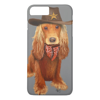 Cocker Spaniel Cowboy iPhone 8 Plus/7 Plus Case