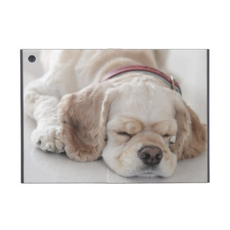 Cocker spaniel dog sleeping iPad mini cover
