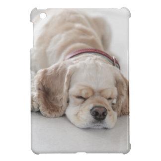 Cocker spaniel dog sleeping iPad mini covers