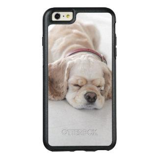 Cocker spaniel dog sleeping OtterBox iPhone 6/6s plus case