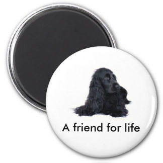 Cocker Spaniel friendship Magnet