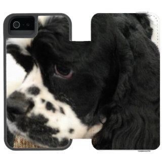 Cocker Spaniel Incipio Watson™ iPhone 5 Wallet Case