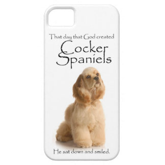 Cocker Spaniel iPhone 5 Case