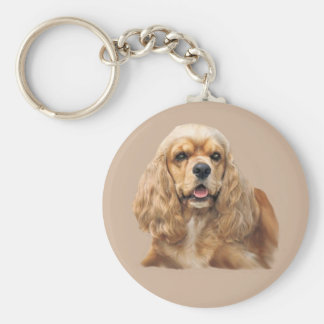 Cocker Spaniel Just Adorable Keychain