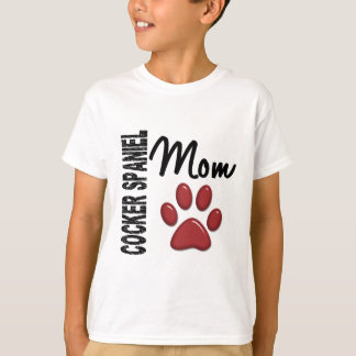 Cocker Spaniel Mom 2 T-Shirt