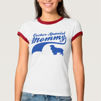 cocker spaniel Mommy T-Shirt