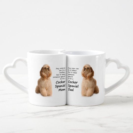 Cocker Spaniel Mum and Dad Lovers Mugs