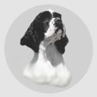 Cocker Spaniel Perfect Face Sticker